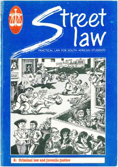 N.D. Mazin, cover illustration, Street Law Book 2: Criminal law and juvenile justice, 1998.